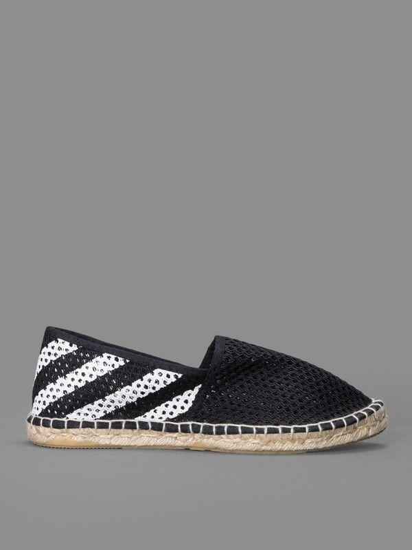 0f98ab1de4827c Crown Greek on the foot OFF-WHITE espadrilles Fisherman net shoes