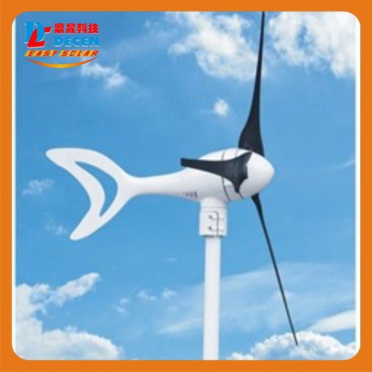 400 Вт Высокая эффективность wind generator Small size Low weight. низкий уровень шума Простота установки 3 лопастей сертификат СЕ