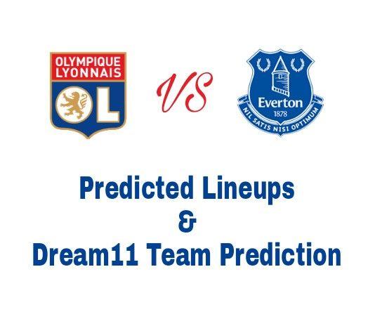 Lyon vs Everton Dream11 Football Team Prediction, Predicted Lineups and Team News. We cover LYN vs EVE Dream11 Team Prediction and Predicted lineups.