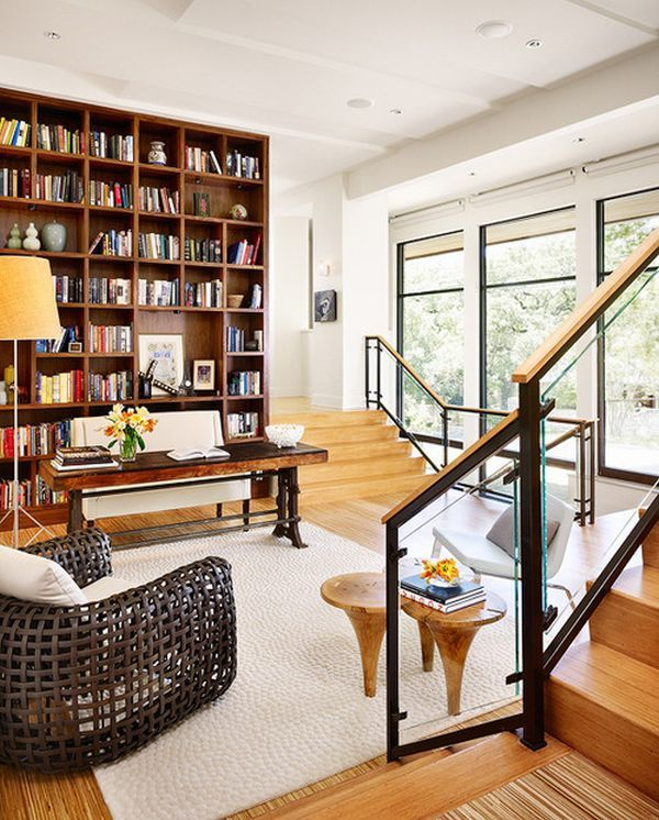 Best 20 home library design ideas on pinterest for Custom home library design