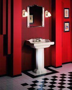61333710ceb37771aba617d4547ffb6f  art deco bathroom pedestal sink Résultat Supérieur 16 Impressionnant Lavabo Colonne Salle De Bain Galerie 2017 Lok9