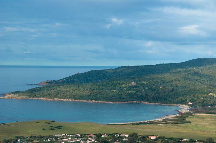 La #plage de Capo di Feno non loin d'#Ajaccio. #Corse #France