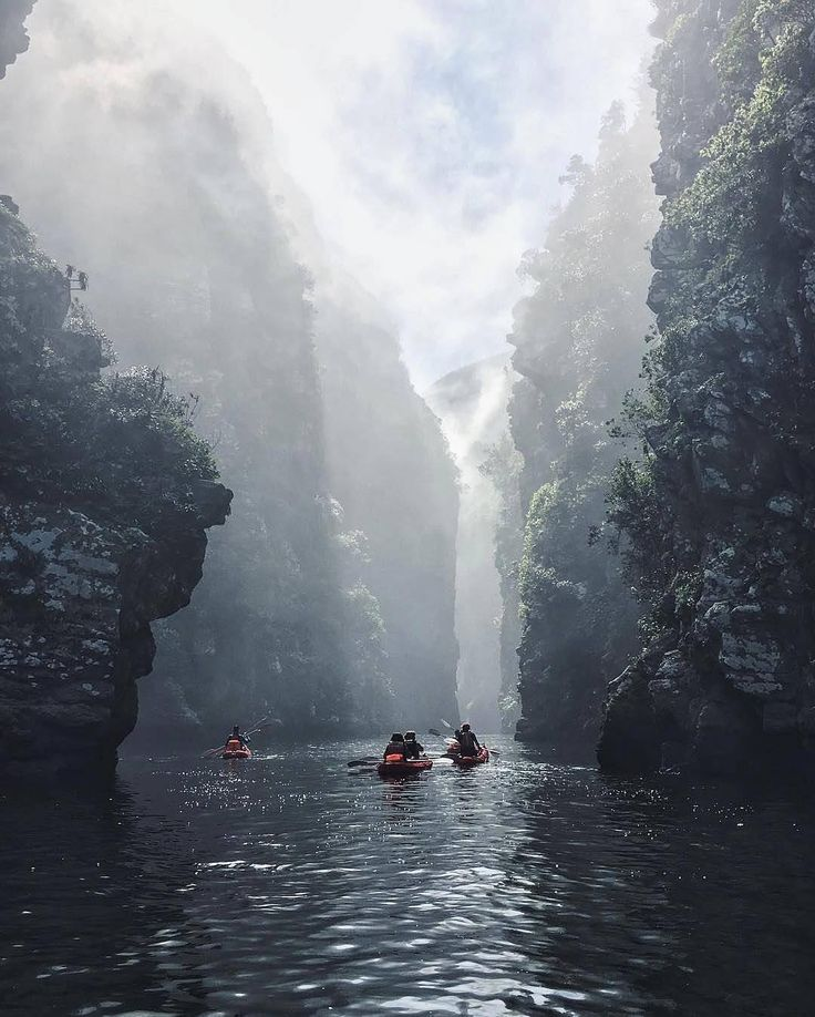 Get lost in the mist of Storms River captured by
