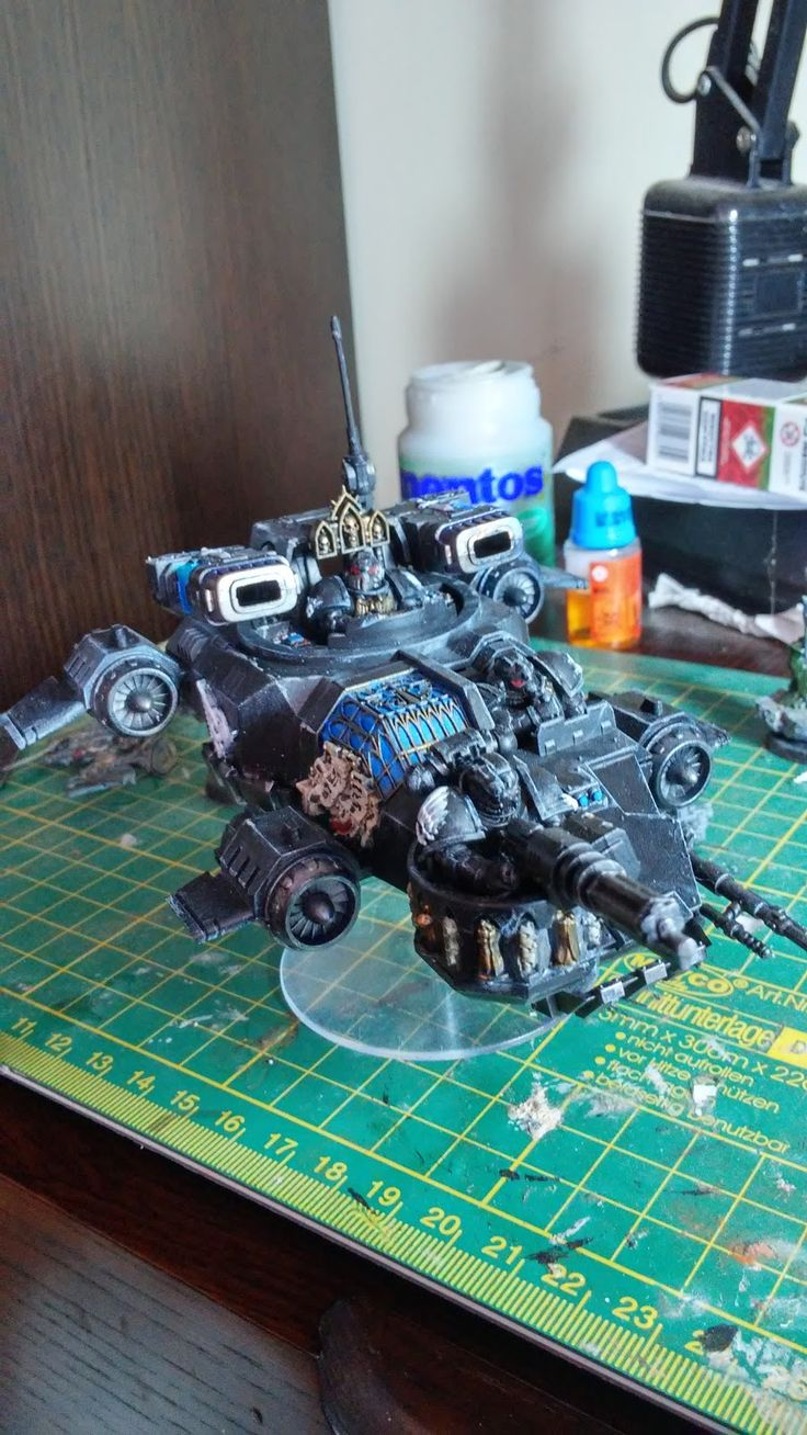 crusade against great beasts: Paint it black