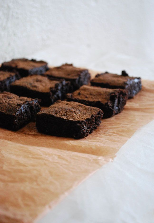 classic chewy brownies