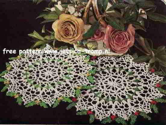 Free Crochet Pattern Christmas Doily : 1000+ ideas about Crochet Doily Patterns on Pinterest ...