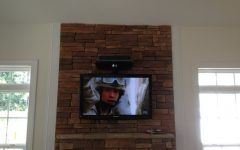 Awesome Tv Wall Mount For Brick Fireplace