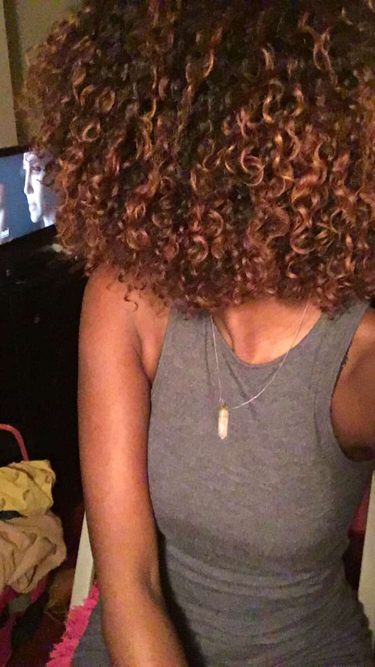 Natural hair-weave-highlight -color