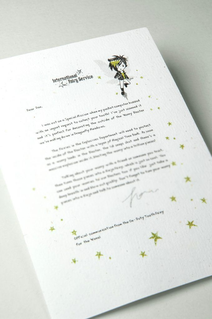 Tooth Fairy Letters No 01 u2013 The