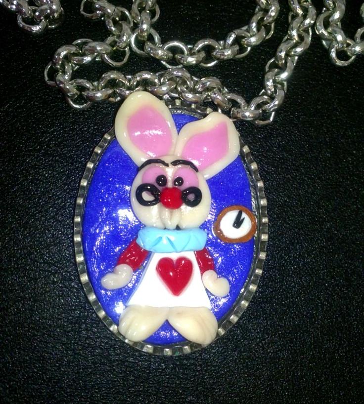 Rabbit cameo from Alice in Wonderland ;)