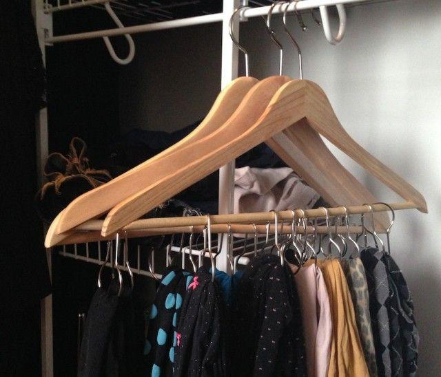 1000 id es sur le th me rangement garde robe sur pinterest - Idee de rangement pour garde robe ...