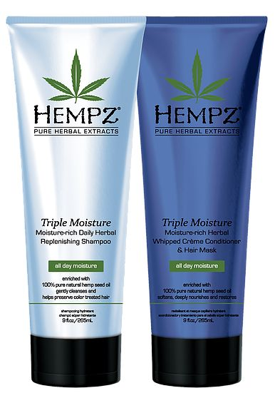Hempz Triple Moisture Herbal Shampoo and Conditioner