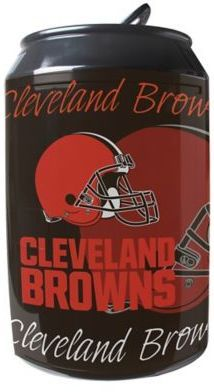 NFL Cleveland Browns 11-Liter Portable Party Can Fridge