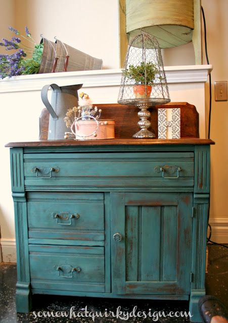 Somewhat Quirky: Miss Mustard Seed Milk Paint Custom Mix