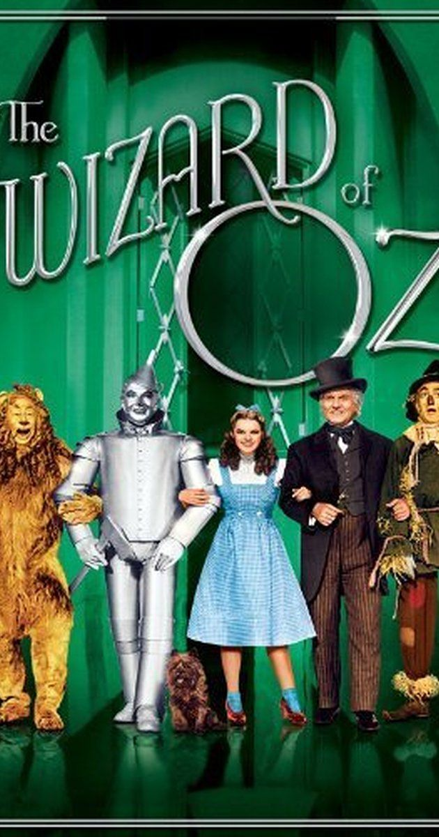 The Wizard of Oz - Directed by Victor Fleming, George Cukor, Mervyn LeRoy.  With Judy Garland, Frank Morgan, Ray Bolger, Bert Lahr. Dorothy Gale is swept away to a magical land in a tornado and embarks on a quest to see the Wizard who can help her return home.