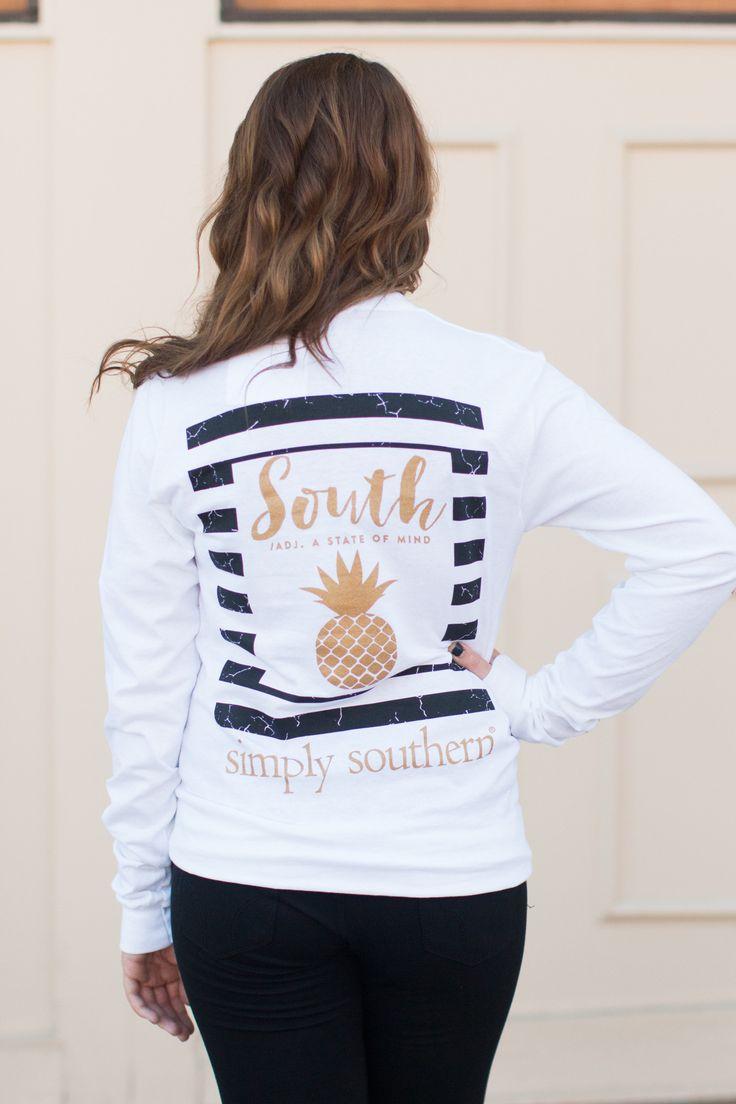 Simply Southern Pineapple Shirt | Southern shirt ...