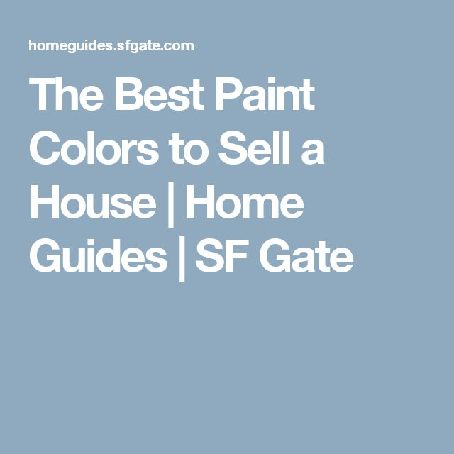 17 best ideas about best paint colors on pinterest interior house colors interior color - Interior paint colors to sell your home ...