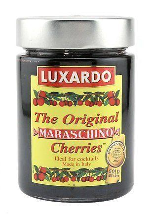 Luxardo Gourmet Maraschino Cherries – 400g Jar – 2 Pack by Luxardo