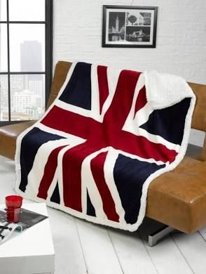 British Union Jack Or London Ben Design Sofa Bed Fleece Uk Flag