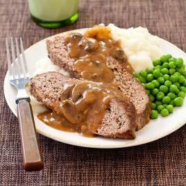 America S Test Kitchen Meatloaf With Mushroom Gravy