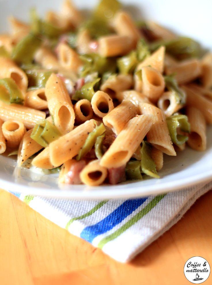 Coffee & Mattarello: StagioniAMO #6: Penne integrali con baccelli di pi...