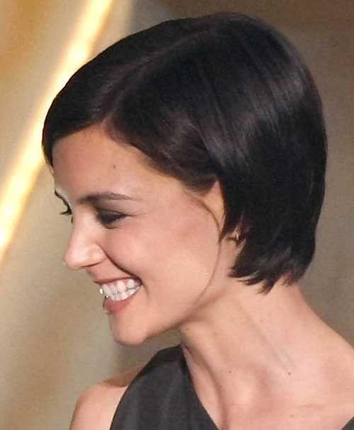 Katie Holmes haircut