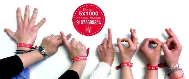 """Tutti possono diventare testimonial della campagna """"L'Amicizia è una causa meravigliosa"""" 2016. Dona il tuo 5×1000 a Grade Onlus e aiutaci a potenziare la ricerca scientifica!"""