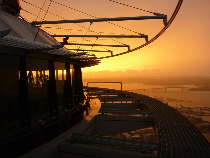 A stunning Auckland SkyWalk experience- well captured!