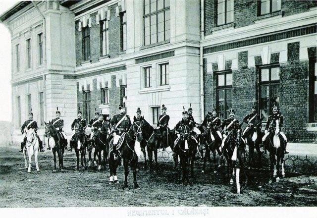 REGIMENTUL 1 CALARASI. CORPUL OFITERESC, 1902