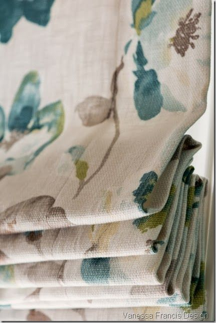 Roman shade from Tonic Living. | Vanessa Francis Design ...