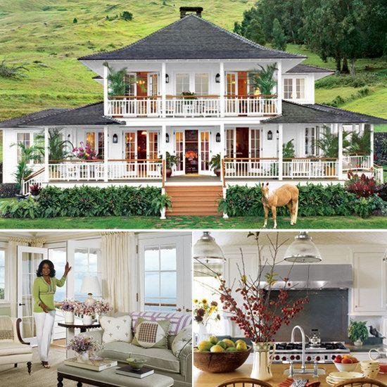 Happy Birthday, Oprah! Peek Inside Her Homes