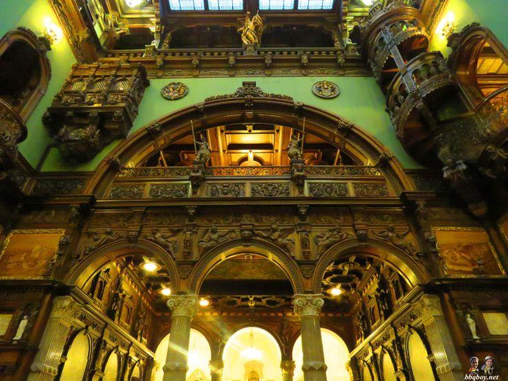 Peles castle, Grand Hall ceiling (2)