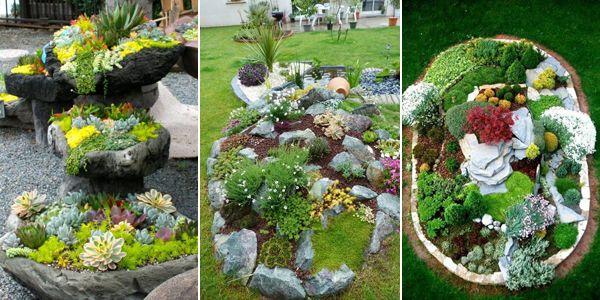 Skalniak Ogrodowy To Ciekawy Pomysl Na Aranzacje Przestrzeni Przed Domem Mozemy Je Coraz Czesciej Spotkac W Przydomowych Ogrodach Poniewaz Stano Plants Garden