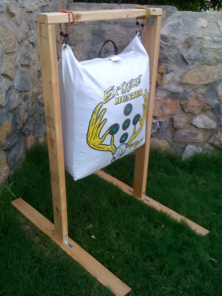Archery+Bag+Stand | Archery Bag Target Holder - TexasBowhunter.com Community Discussion ...
