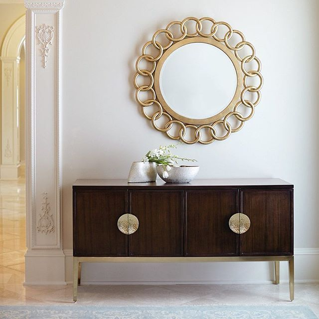 #HappyMonday Exclusive Bernhardt items are now up to 25% off this week! The Jet Set sideboard is beautifully detailed in a ribbon stripe sapele with hammered brass handles! Grab it before its gone!  . . . #urbanhome #bernhardtsale #exclusivesale #2018 #floormodelsale #YQGsale  #materialselections #styling #interiordesign #interiorstyle #livingroom #homeinspo #interiorlovers #interior4all #elegant #luxe #interiorforyou #interiorstyling #interiordecorating #interiores#interiorforinspo…