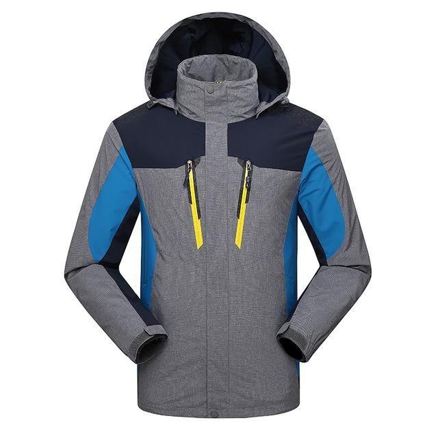 Unisex Trail Detector All-Weather Hiking Jacket   Waterproof Windproof