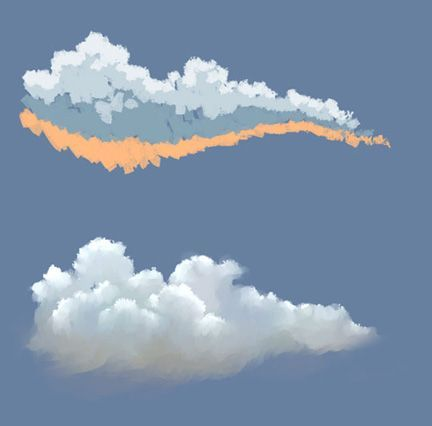 painting clouds images - Google Search