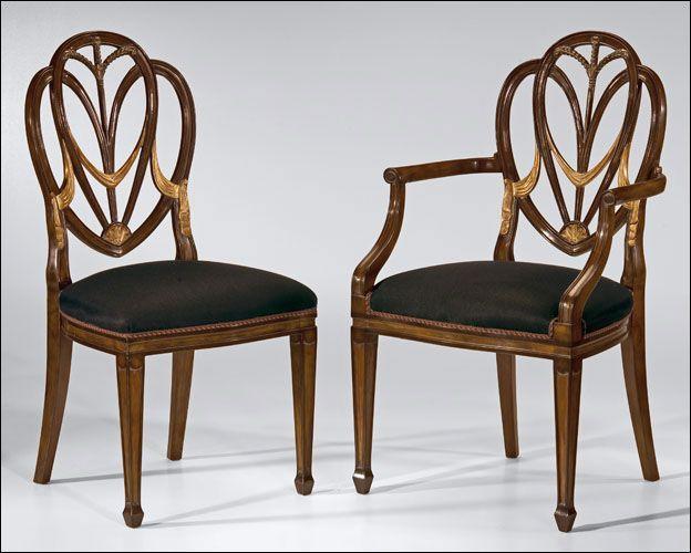 21 best Hepplewhite furniture style images on Pinterest