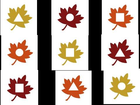 Shape Leaf Matching Game