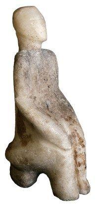 Female figure found at Catal Höyük