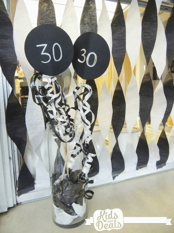8 best 30th Birthday Party images on Pinterest 30th birthday
