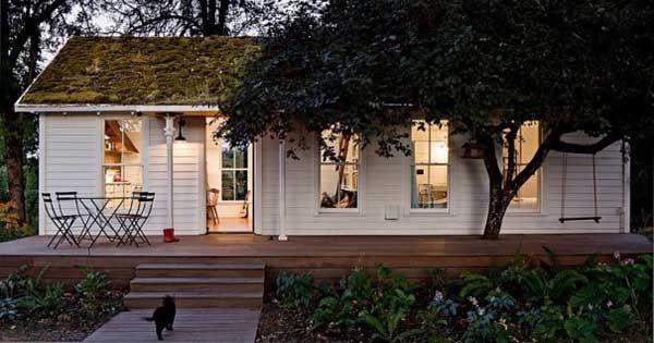 Ako si 4-členná rodinka Halgersonovcov pretvorila maličký dom s rozlohou 50m2 na jednoduchý, sladký domov. Nápady pre krajšie bývanie, interiér, exteriér