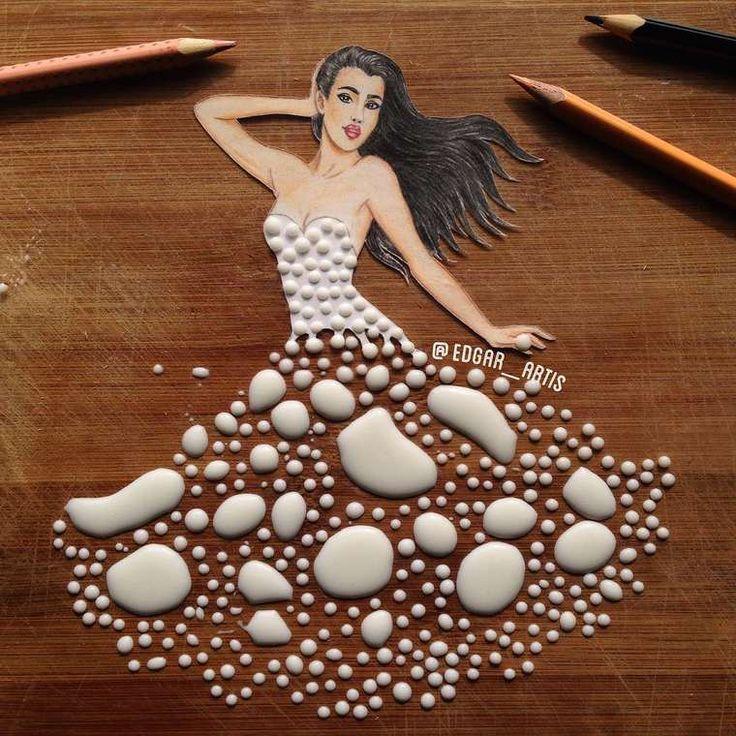 Les robes culinaires de Edgar Artis