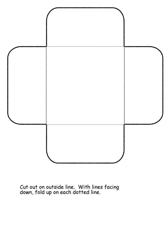 Homeschool Helper Online's Free Square Petal Lapbooking Template