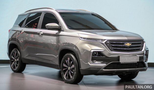 Bangkok 2019 New Chevrolet Captiva Is A Rebadged Baojun 530