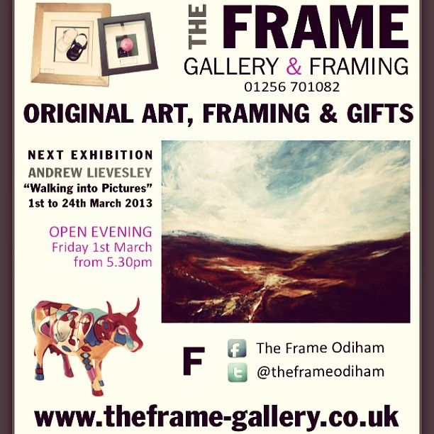 Ad for The Frame Gallery by @Polly Buckland