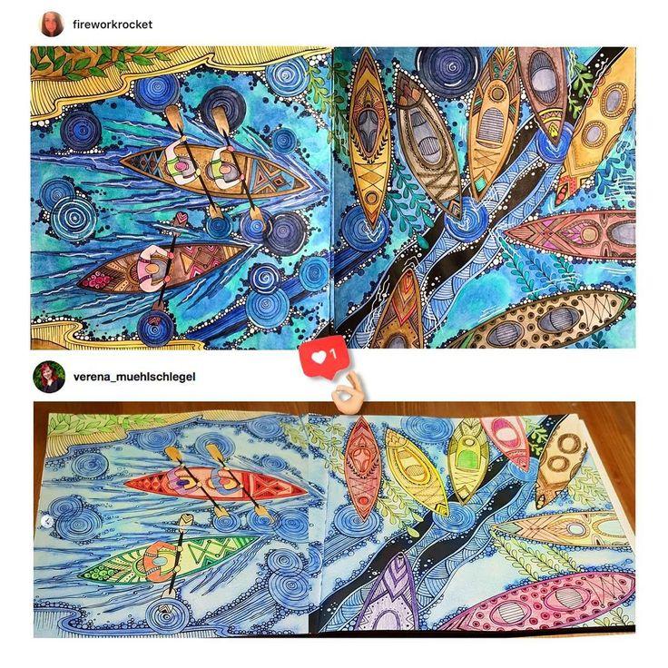 "52 mentions J'aime, 5 commentaires - Coloring 🎨❤️ (@color.world.color) sur Instagram: ""Ready but i dont't satisfied 😖 #colors #coloring #meinsommerspaziergang #color #prismacolor"""