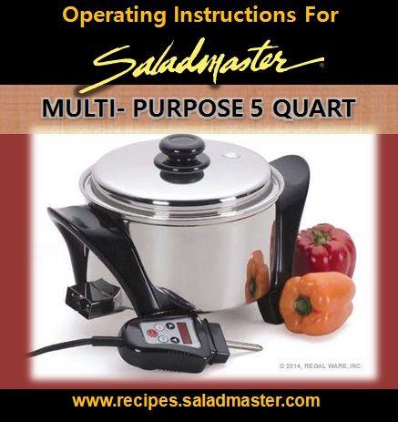 crock pot operating instructions