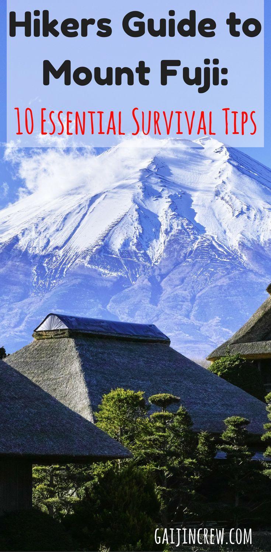 Hiking tips  hiking trails  Japan travel  Japan nature  Mount Fuji