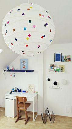 DIY Lampe: So entsteht aus einer Ikea-Lampe ein cooles Design-Objekt!